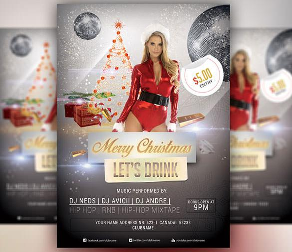 Merry Christmas 2015 PSD Design Download