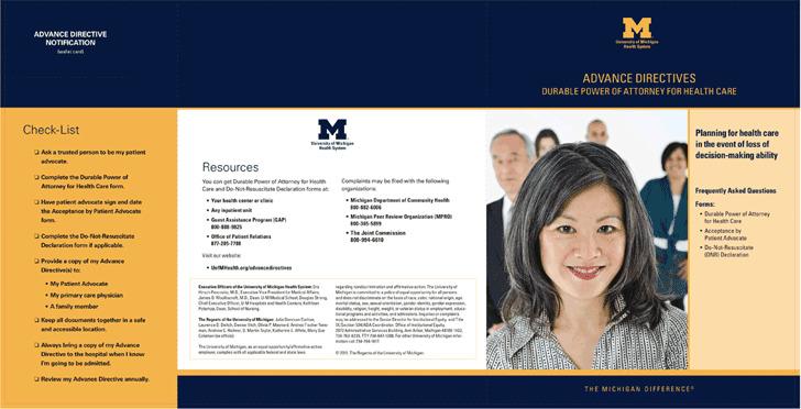 Michigan Advance Directive Form 2