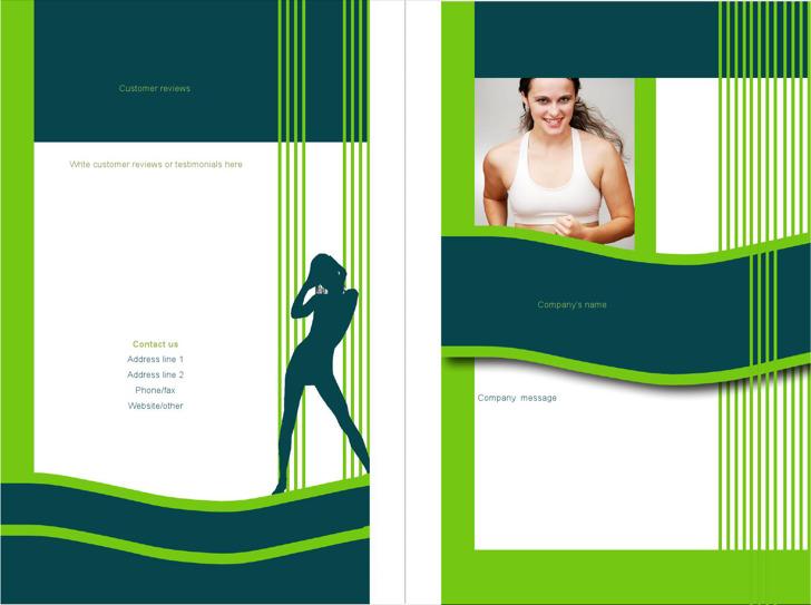Microsoft Bi Fold Brochure Template