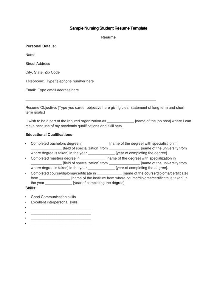 Free Resume Template For Microsoft Word. Resume Doc Templates. 15