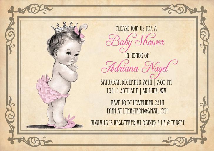 Microsoft Word Baby Shower Invitation Template