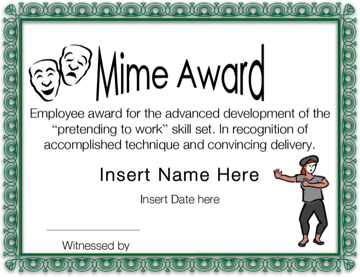 funny certificate templates download free amp premium