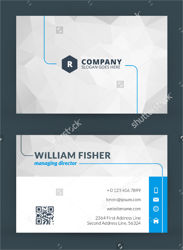 Information technology business cards download free for Business card template pdf