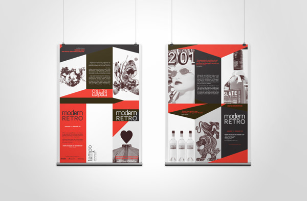 Modern Retro - Brochure Design