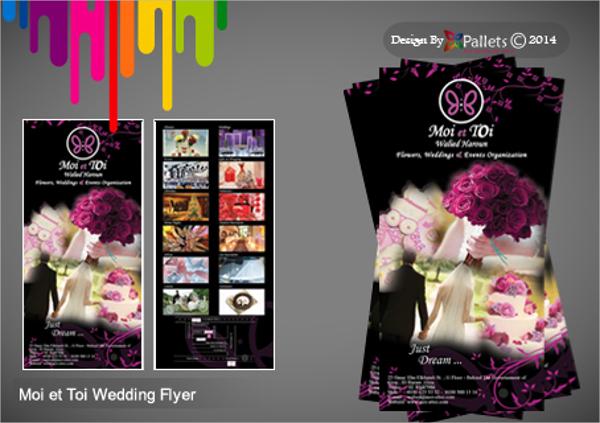 Moi et Toi Wedding Planner Brochure