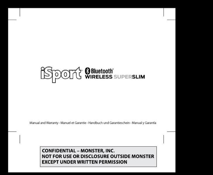 Monster User's Manual Sample
