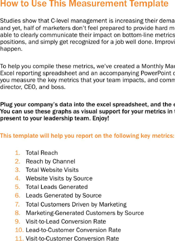 Marketing Report. Customer Feedback Report Template Marketing