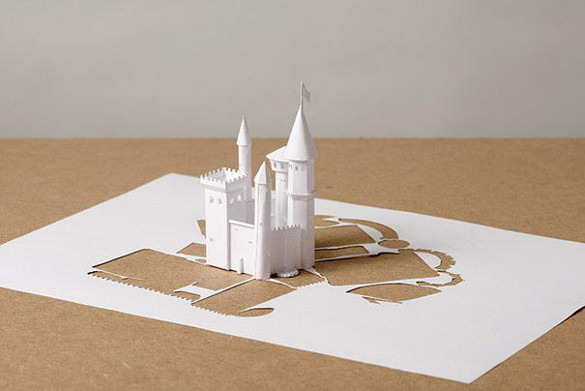 Monument Paper Art Design