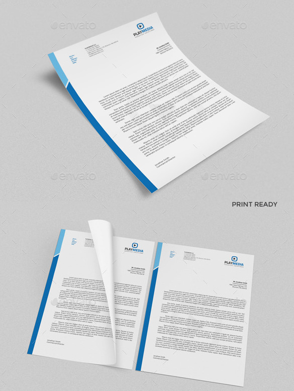 MS Word Doc Letterhead Template