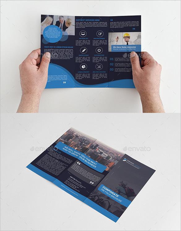 Multi Design Tri Fold Brochure Bundle