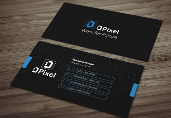 Multiple Colors Business Card Template