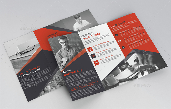 Multipurpose Advertising Trifold Brochure