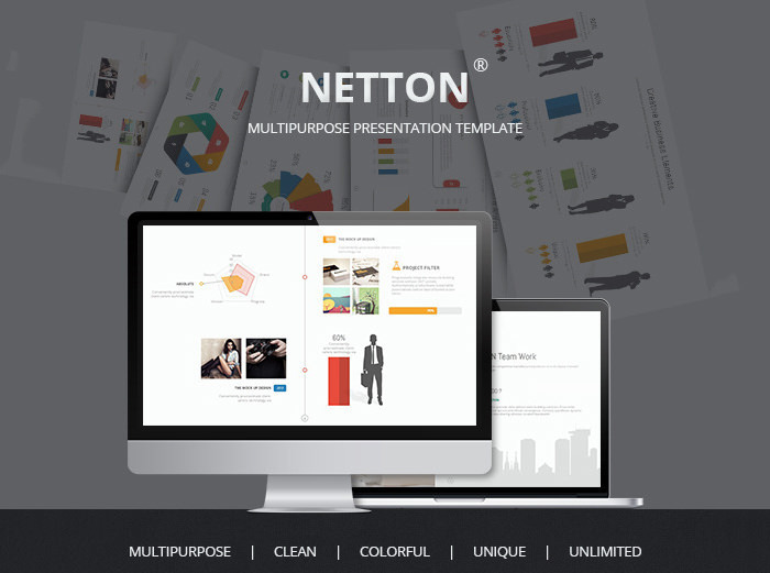 Multipurpose Creative Powerpoint Presentaion Template