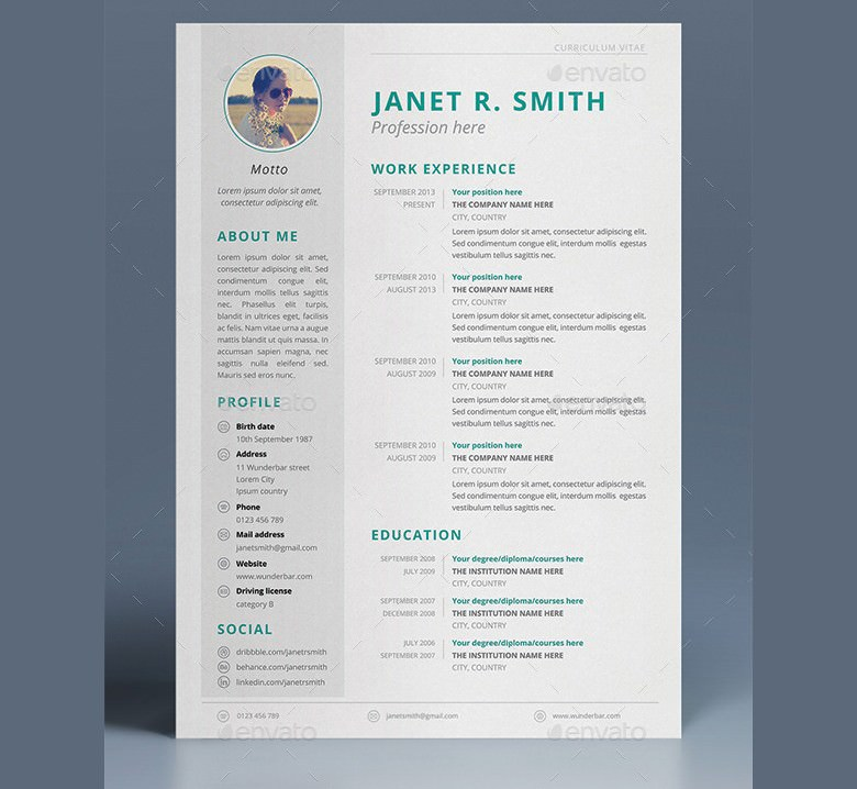 Multipurpose CV Template