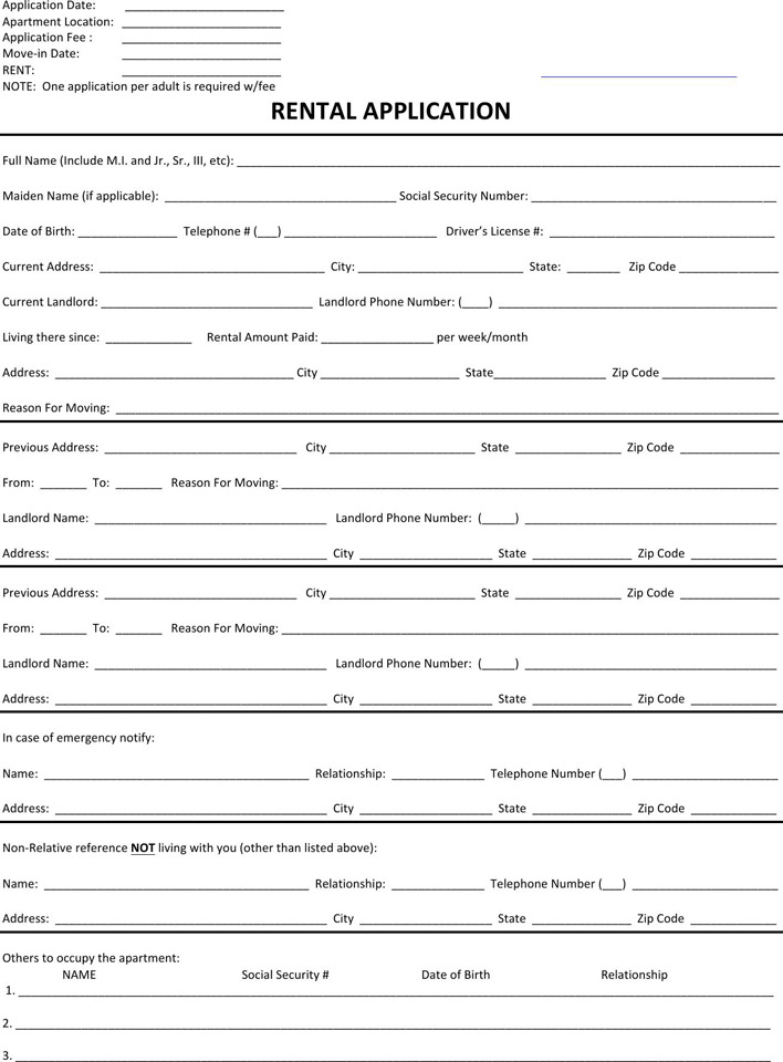 New Hampshire Rent And Lease Template
