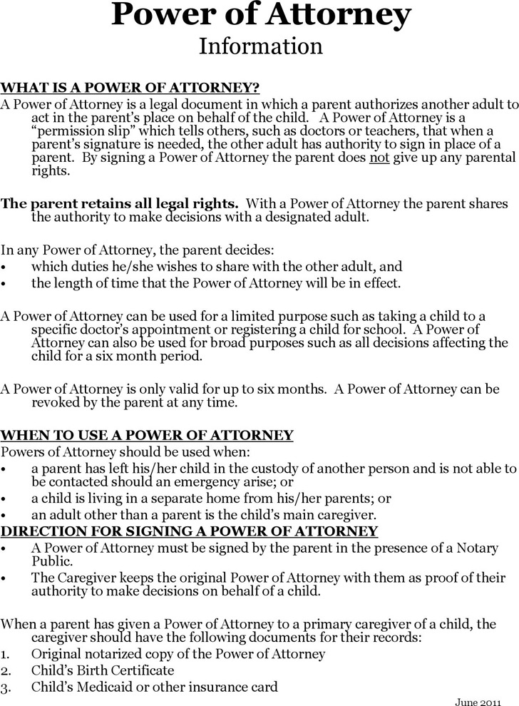 New Mexico Power of Attorney for a Minor Child Form