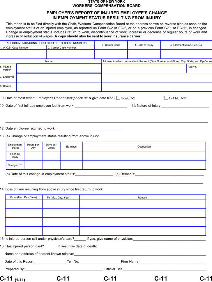 3+ New York Advance Directive Form Free Download