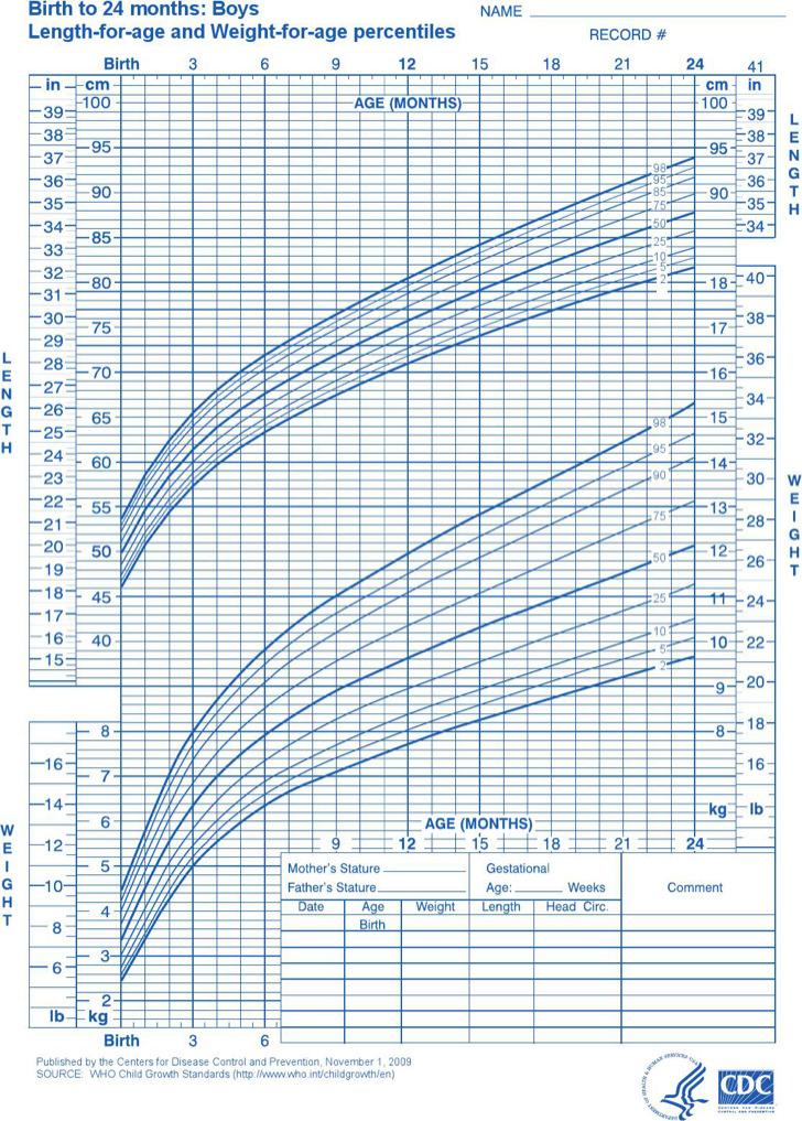 Newborn Baby Weight Charts   Download Free & Premium Templates ...