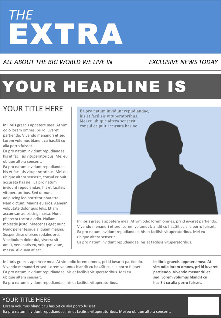 Newspaper Template 4
