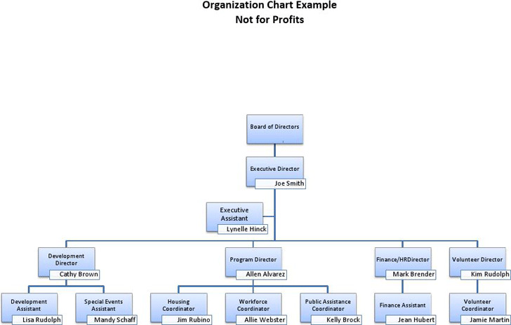 NonProfit Organizational Chart  Download Free  Premium Templates
