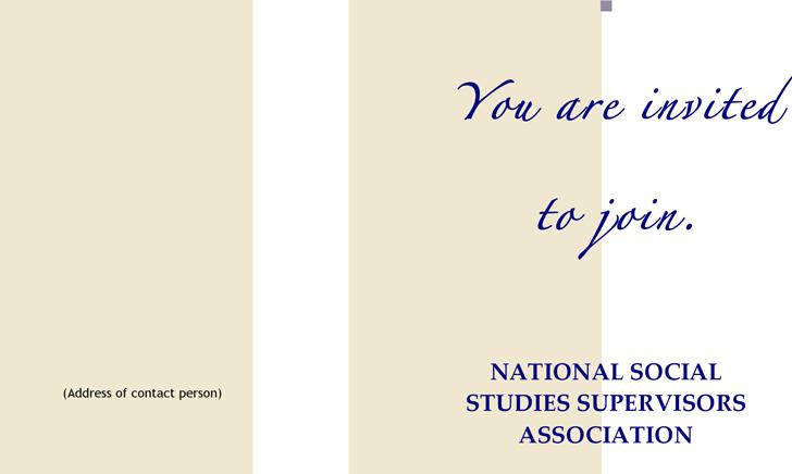 NSSSA Member Brochure (Bi-Fold)