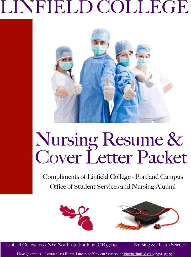 Nursing Resume & Cover Letter Packet