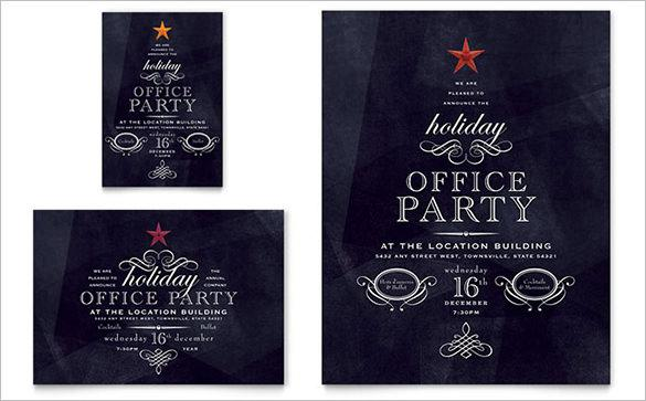 Office Holiday Party Flyer - $99