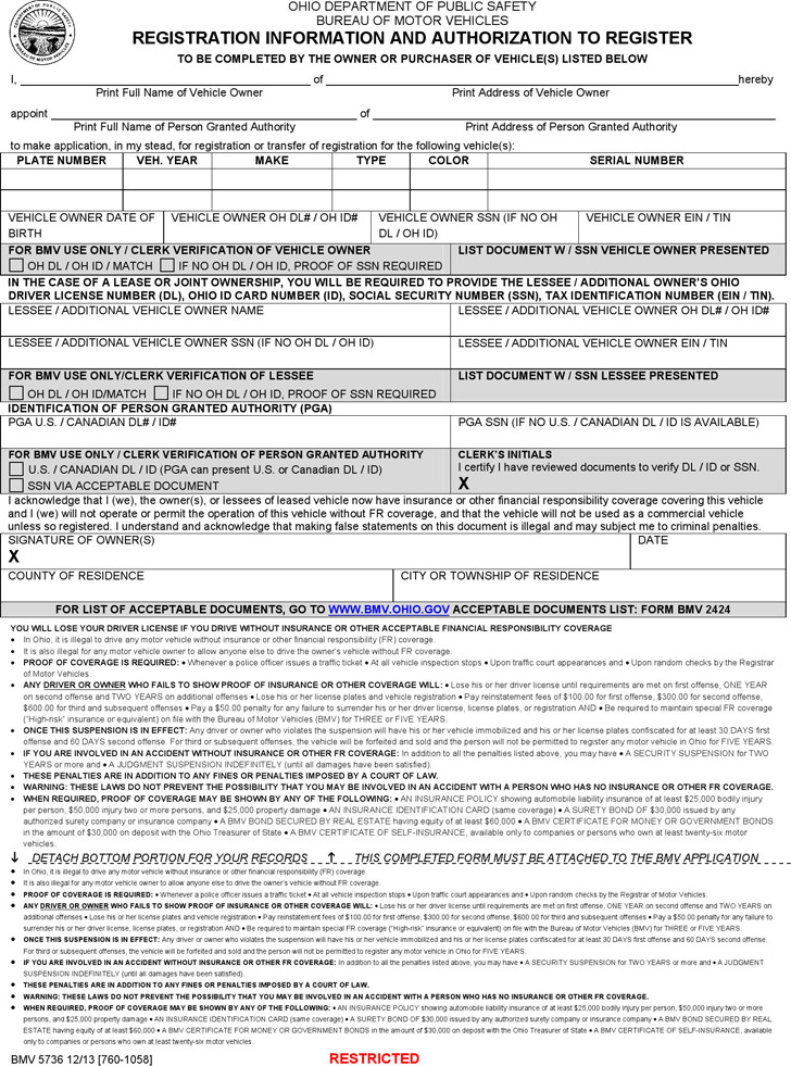 Ohio Power Of Attorney Form Download Free Premium Templates