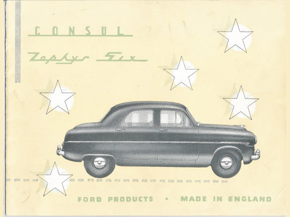 Old Car Brochures For Sale