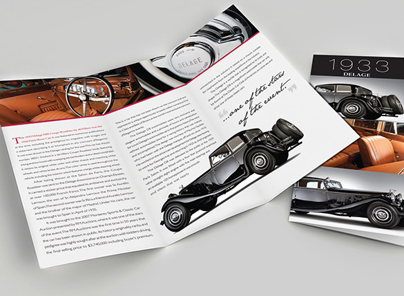 Old Car Brochures