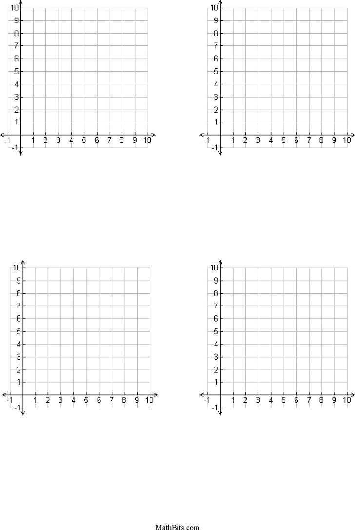 worksheet First Quadrant Graph Paper printable four quadrant graph paper subtraction with regrouping free numbered grid 11 best images of x y axis one page first templates labeled scales numbe