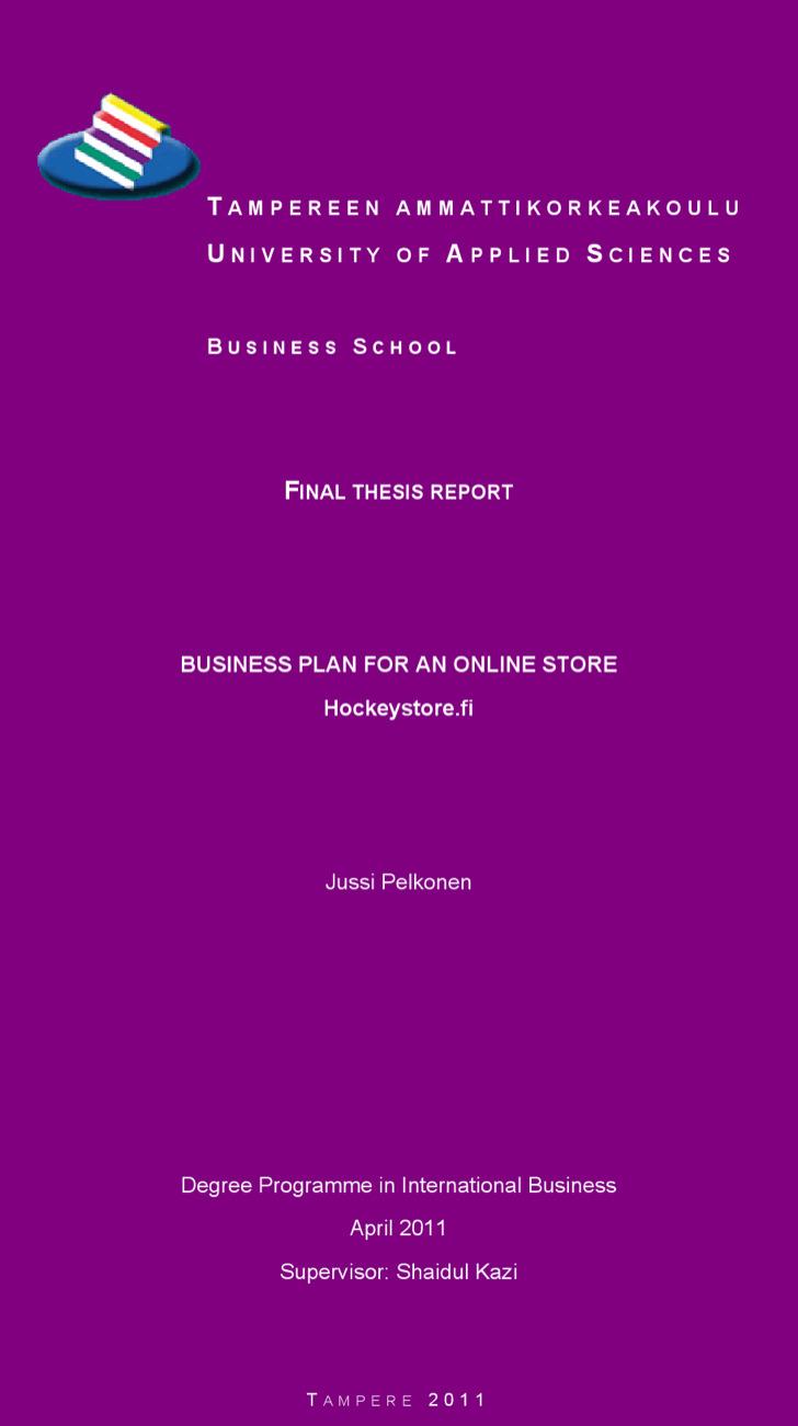Boutique Business Plan Template | Download Free & Premium ...