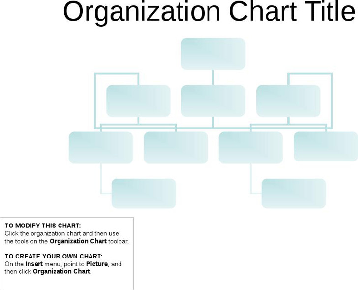 Basic Organization Chart  Download Free  Premium Templates Forms