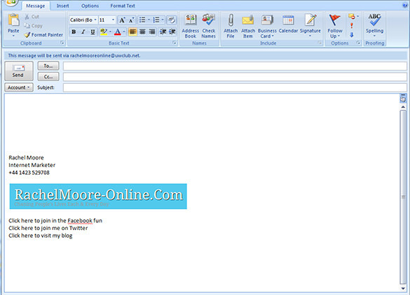 Outlook Email Signature Templates  Download Free  Premium