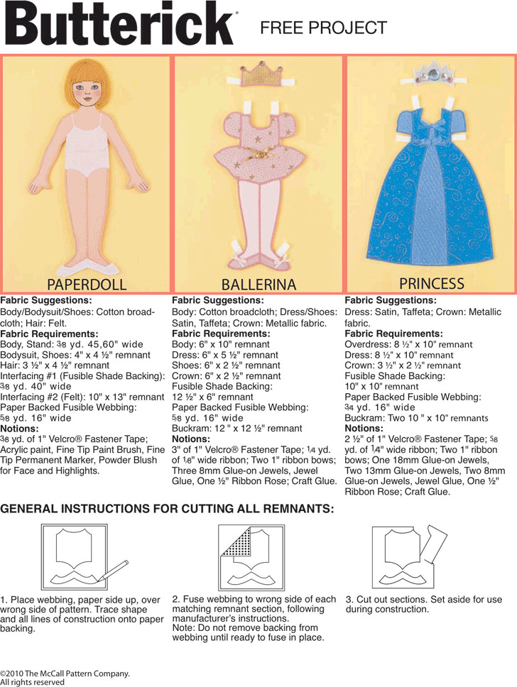 Paper Doll Template 1