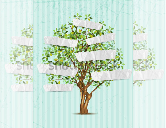 Paper Editable Family Tree Template