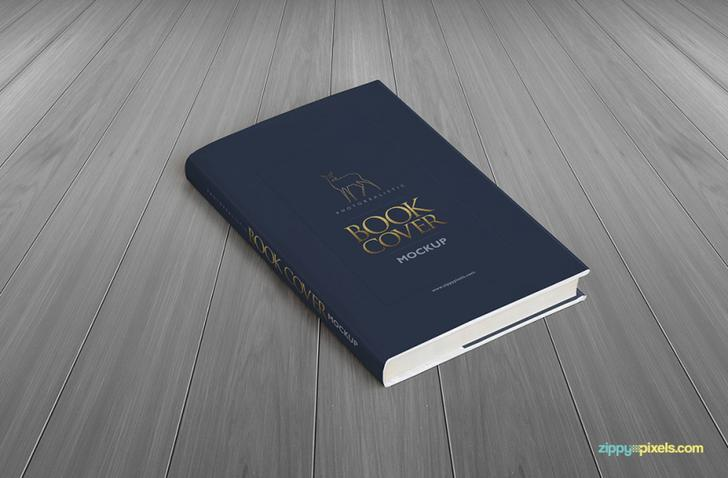 Passport Booklet Photo Realistic Mock Up PSD