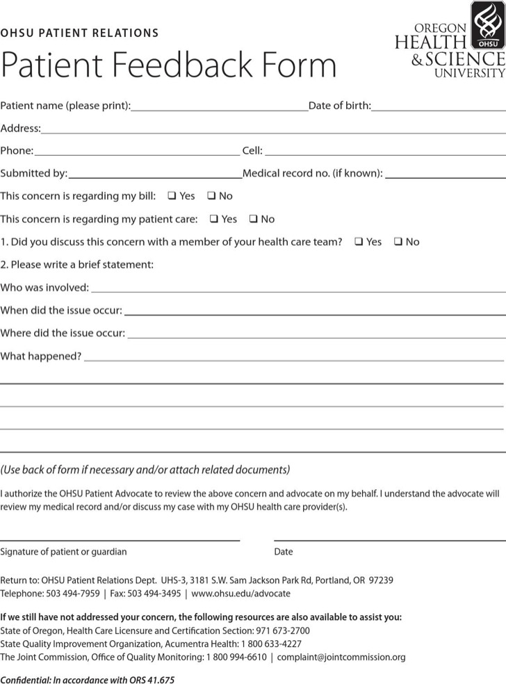 Health Services Survey Template  Download Free  Premium