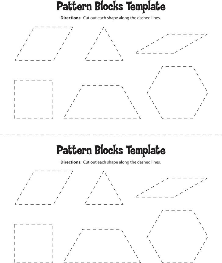 Pattern Block Templates  Download Free  Premium Templates Forms