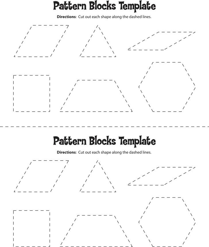 Pattern Block Template 2