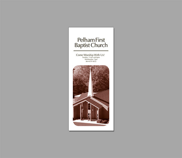 Pelham First Baptist Brochure Illustrator