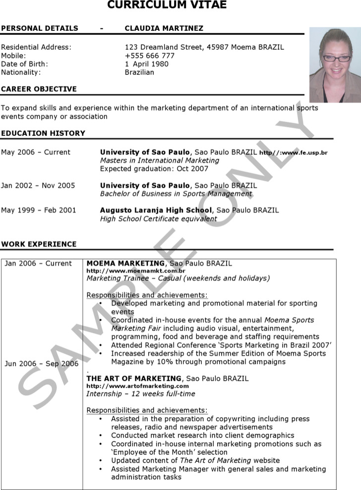 personal trainer resume templates download free premium - Personal Training Resume