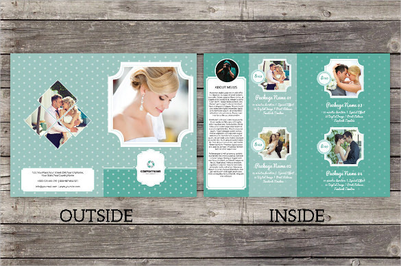 Photographer Bifold Brochure Template Download