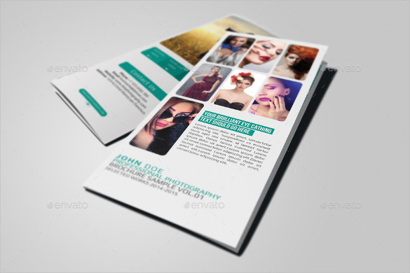 Photography Brochure Template Design Download