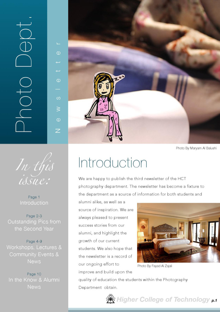 Photography Newsletter Template Download Free Premium Templates - Department newsletter templates