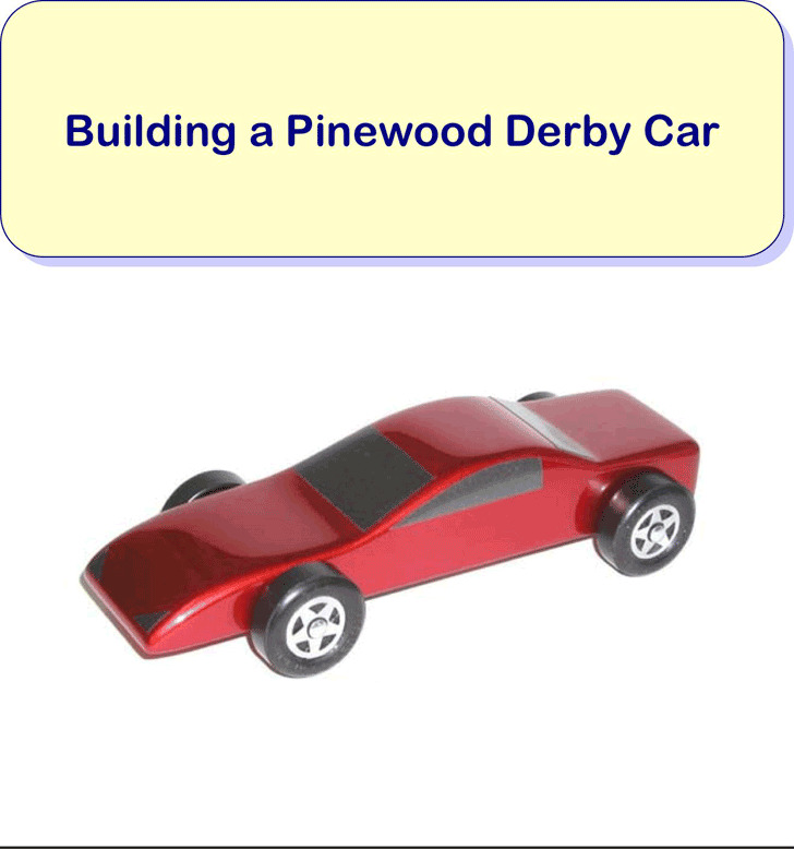 Templates for pinewood derby cars for Free pinewood derby car templates download