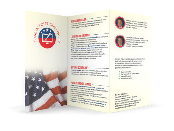 Political Brochure Templates - Hlwhy