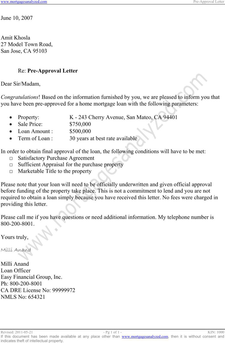 Approval Letter Templates | Download Free & Premium Templates ...