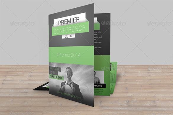 Premier Conference Bifold Brochure Pack