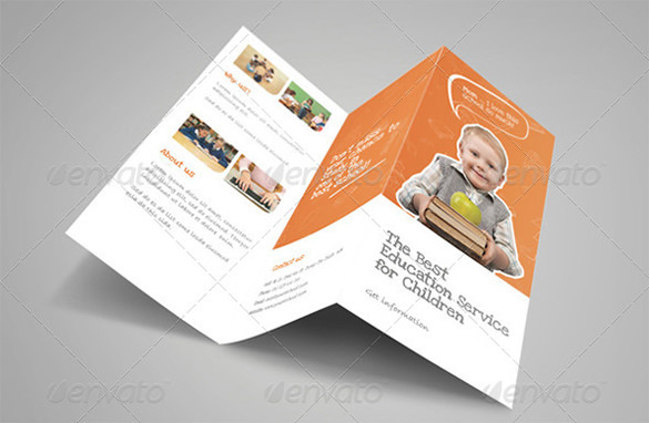 Premium Education Brochure Tri-fold & Bi-fold